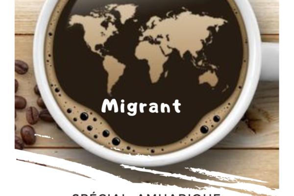 Le Collectif Agir au Café Migrant